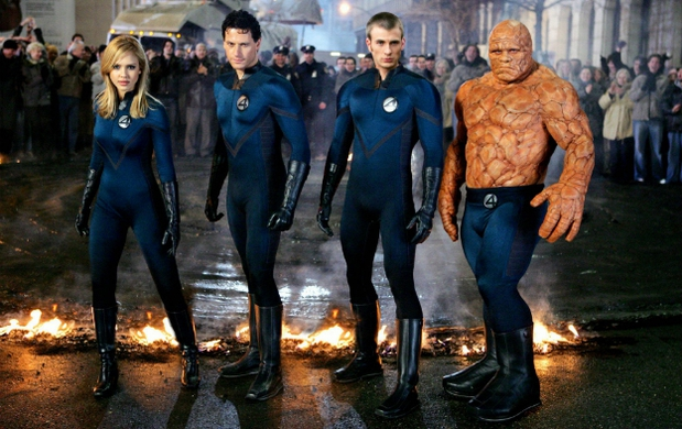 Jessica alba ioan gruffudd michael chiklis chris evans fantastic superheroes team heroes mutants wallpaper